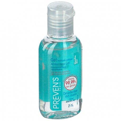 Preven's Gel hydroalcoolique menthe 25ml
