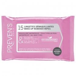 Preven's lingette demaquillante pocket sach 1x15