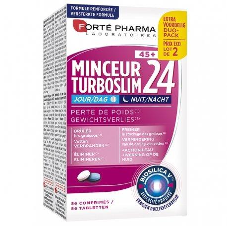 Forte Pharma Turboslim Minceur 24 Jour/nuit 45+ Comp 2x28