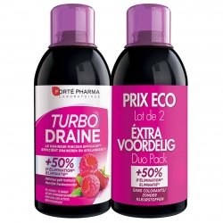 Forte Pharma Turbodraine Minceur framboise duo 2x500ml