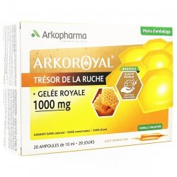 Arkoroyal Gelée Royale 1000mg Ampoules 20x10ml