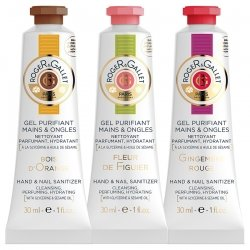 OFFRE SECIALE 2+1 Offert - Roger & Gallet Trio Gels Purifiants Mains 30ml
