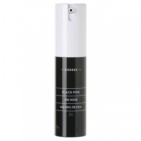 Korres Black Pine Noir 3D crème contour des yeux 15ml