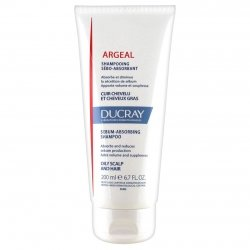 Ducray Argeal shampooing usage fréquent cheveux gras 200ml