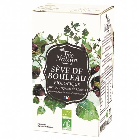 Be Life Sève de Bouleau Bio Bourgeons Cassis Fee Nature 2L
