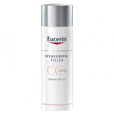 Eucerin hyaluron-filler cc creme light 50ml