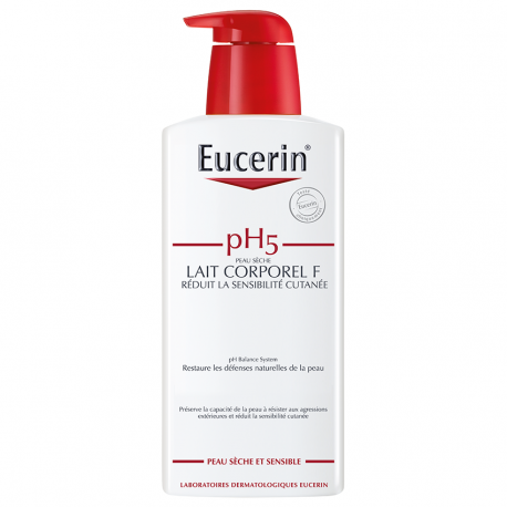 Eucerin Ph5 peau sensible lait corporel F flacon pompe 400ml