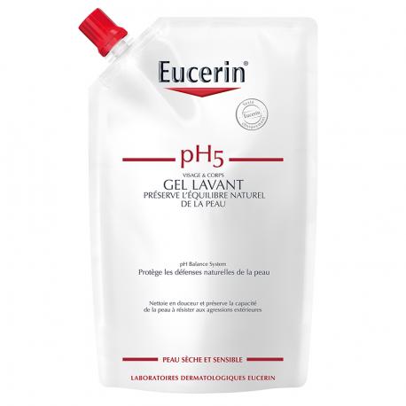 Eucerin Ph5 peau sensible savon liquide recharge 400ml
