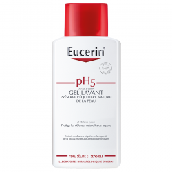 Eucerin Ph5 peau sensible gel lavant 200ml