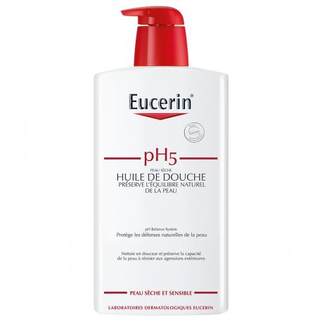 Eucerin Ph5 peau sensible huile de douche 1000ml