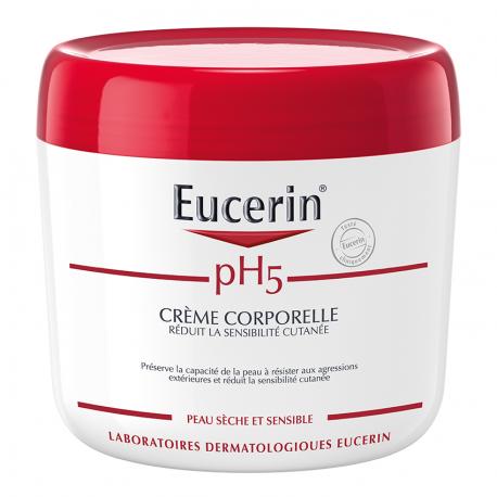 Eucerin pH5 Crème corps peau sèche et sensible 450ml