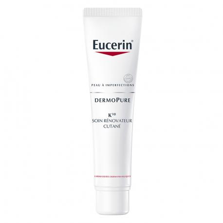 Eucerin DermoPure K10 Soin Rénovateur Cutané 40ml