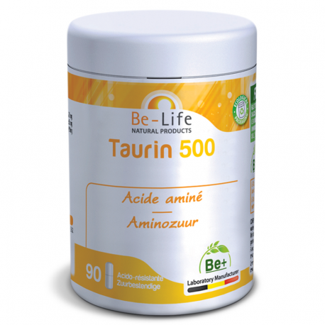 Be Life Taurin 500 90 gélules