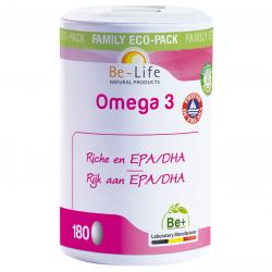 Be Life Omega 3 Magnum FOS 180 capsules