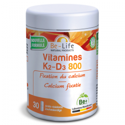 Be Life Vitamines K2 D3 800 30 gélules CEE