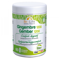 Be Life Gingembre 1200 BIO 60 gél