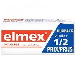 Elmex Dentifrice Anticaries tubes 2x75ml 2e -50%
