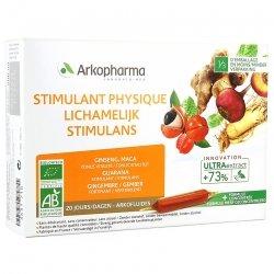 Arkofluide Stimulant Physique 20 ampoules