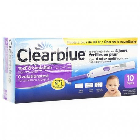 Clearblue Test d'Ovulation Advanced 10ct Promo 5 euro
