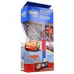 Oral B Brosse à dents Vitality Kids Cars + Case