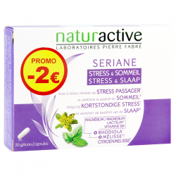 Naturactive Seriane Stress & Sommeil Caps 2x15 -2€ Promo