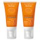 Avene Solaire 1+1 gratuit crème visage teintée SPF50+ très haute protection 50ml
