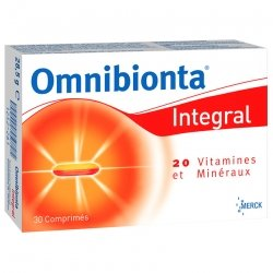 Omnibionta integral 30 tabs