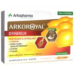 Arkoroyal Dynergie Ruche Royale 20 Ampoules