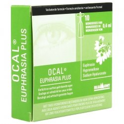 Ocal Euphrasia Plus 10x0,4ml