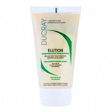Ducray Elution Shampooing traitant dermo-protecteur 75ml - Format voyage