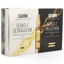 Isdinceutics Flavo-C Melat. + Ultraglican 10+10 ampoules