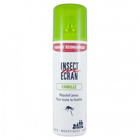 Insect Ecran Peau Répulsif Famille Vaporisateur 200ml