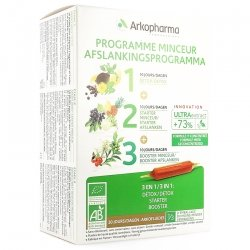 Arkofluides Programme Minceur NF Ampoules 30x15ml