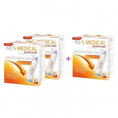 XLS Medical Max Strenght 60 sticks 2 + 1 gratuit