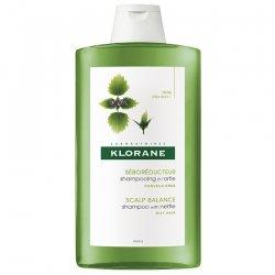 Klorane Shampooing séborégulateur tendance grasse à l'extrait d'ortie cheveux gras 400ml