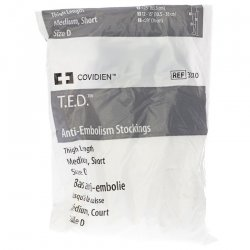 T.e.d.-kendall bas anti-embolie 33101 m court blanc
