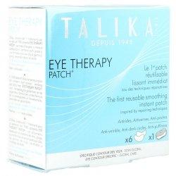 Talika eye therapy patch (boîte de 6 patchs + boîtier en alu)