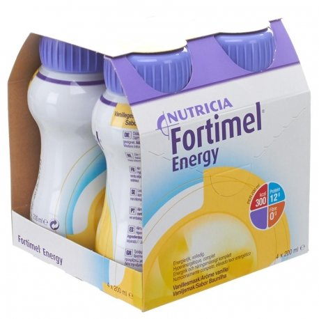 Fortimel Energy Vanille 4x200ml Rempl.2320521