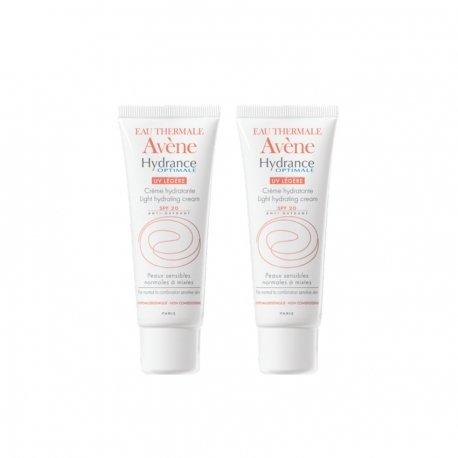 Avene duopack Hydrance optimale légère crème hydratante ip20 tube 40ml