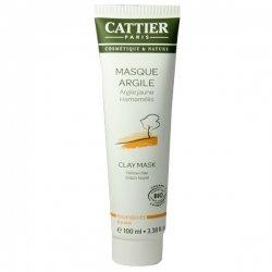 Cattier Masque d'Argile Jaune Peaux Sèches 100 ml