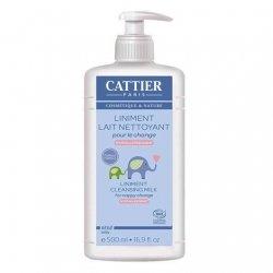 Cattier Bébé Liniment Lait Nettoyant 500 ml