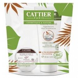 Cattier Kit Nourrissant Beurre de Karité et Crème Mains