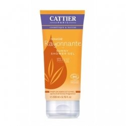 Cattier Gel Douche Rayonnante Abricot Miel 200ml