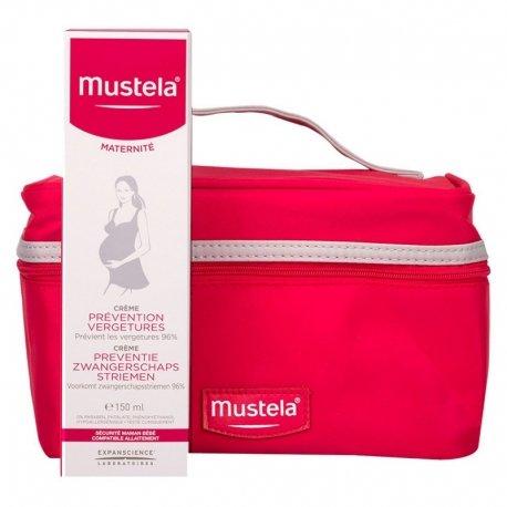 Mustela Maternité Crème Prévention Vergetures 150ml + Trousse
