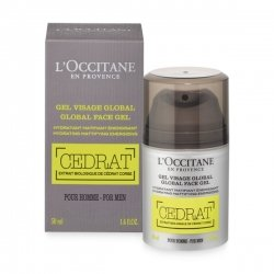 L'Occitane en Provence Cedrat Gel Visage Global Homme 50ml