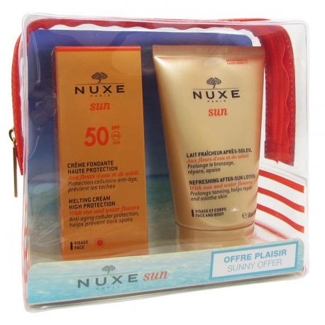Nuxe Sun Trousse Crème fondante IP50 50ml + Lait fraîcheur Après-Soleil 100ml