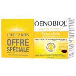 Oenobiol Duo Pack Solaire Intensif Peau Claire 2x30 caps