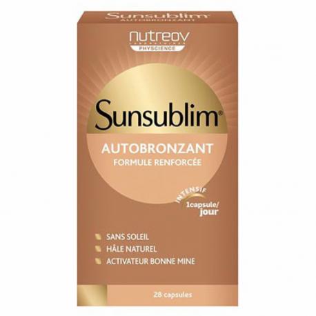 Nutreov Sunsublim Autobronzant 28 Capsules