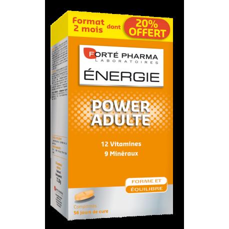 Forte Pharma Energie Power Adulte comp 56 promo 20%
