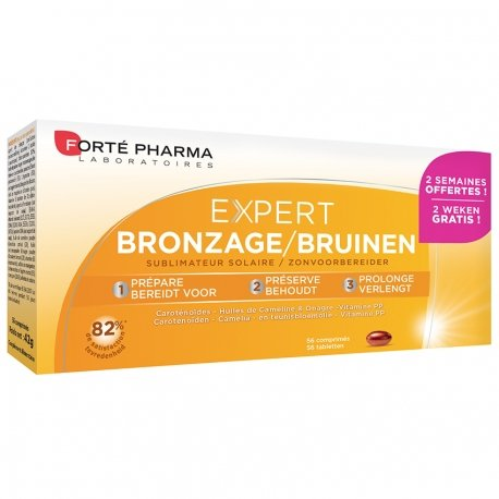 Forte Pharma Expert bronzage duopack comprimés 2x28